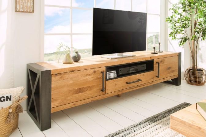 TOR - Handgjord TV-bänk i ek