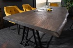 Dining table Mammut Industrial 220cm acacia gray