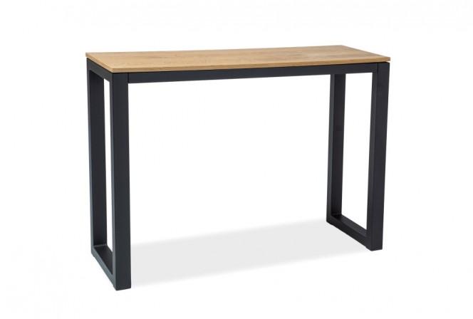 ODIN - Konsol/sminkbord med vacker träfanér 120 cm