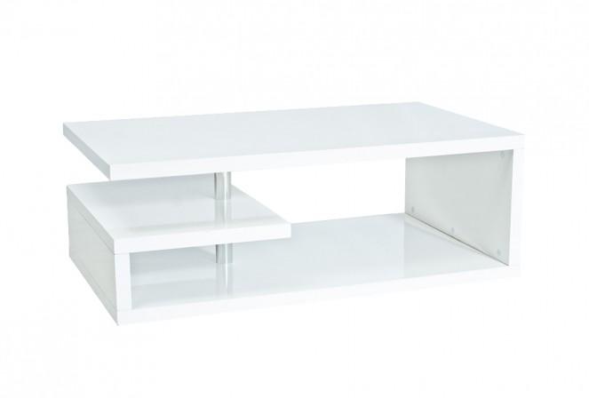 TERRA - Vackert soffbord i högglans 120 cm