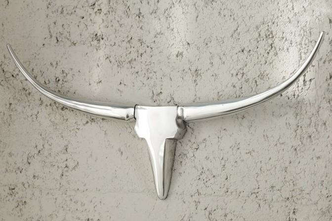 Antler – skulptur i silver