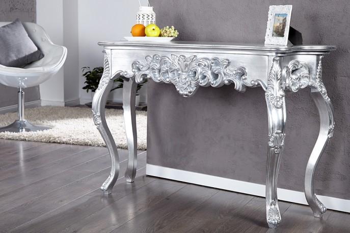 Elise – sminkbord i silver