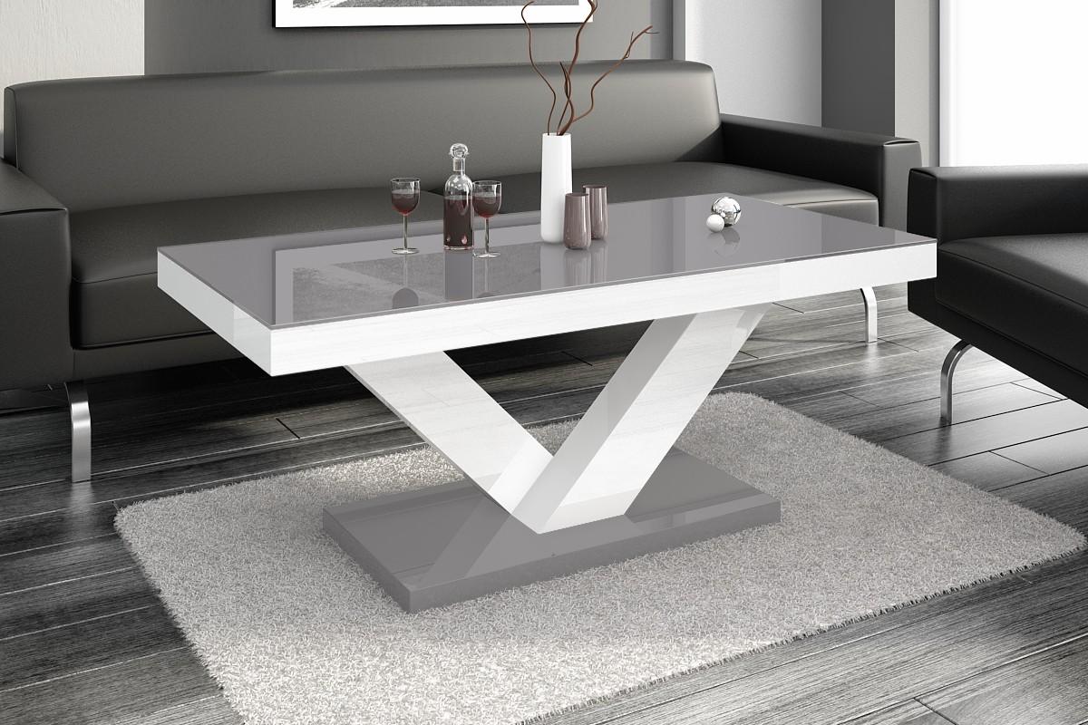 Vardagsrumsbord svart hel i HÖGBLANK modern bord