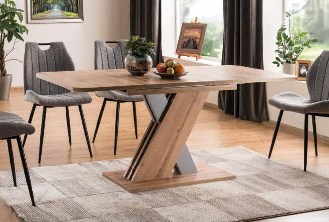 SATURNUS Matbord med förlängningsfunktion