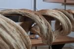 Hängeleuchte Vigine 160cm Recyclingholz