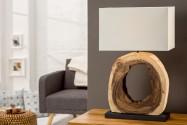 CHUNK - bordslampa i teak