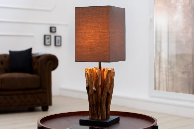 FELICIA - bordslampa i trä