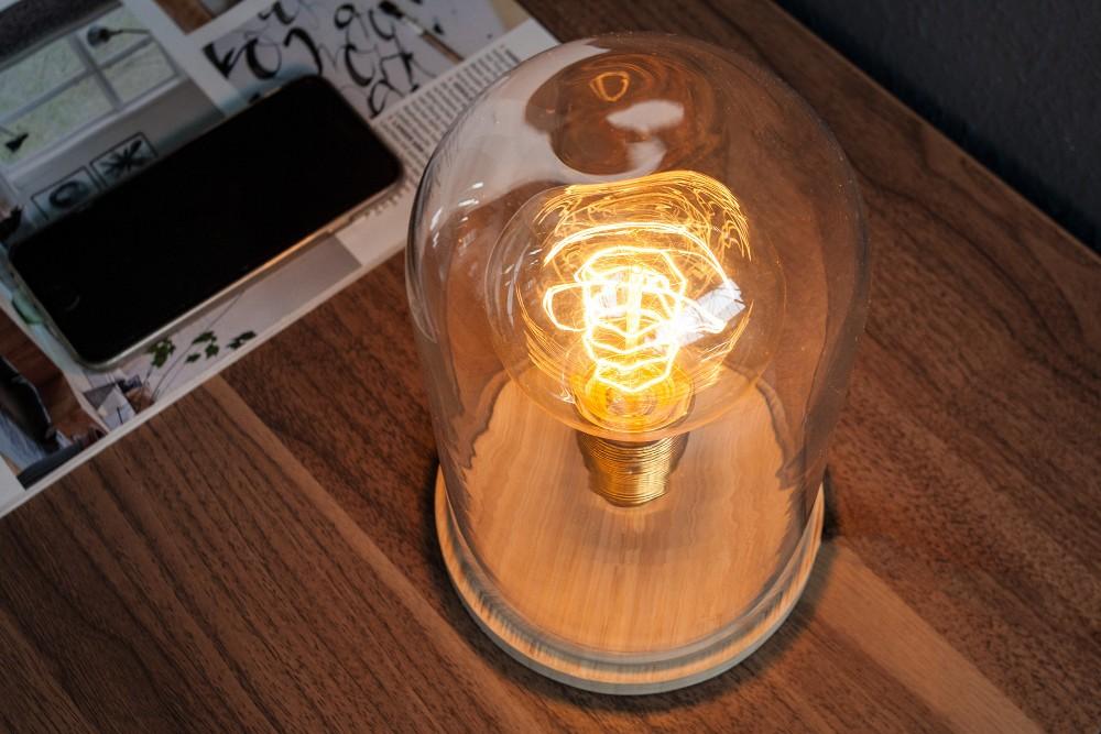BELL industriell och modern bordslampa, retro vintageversion