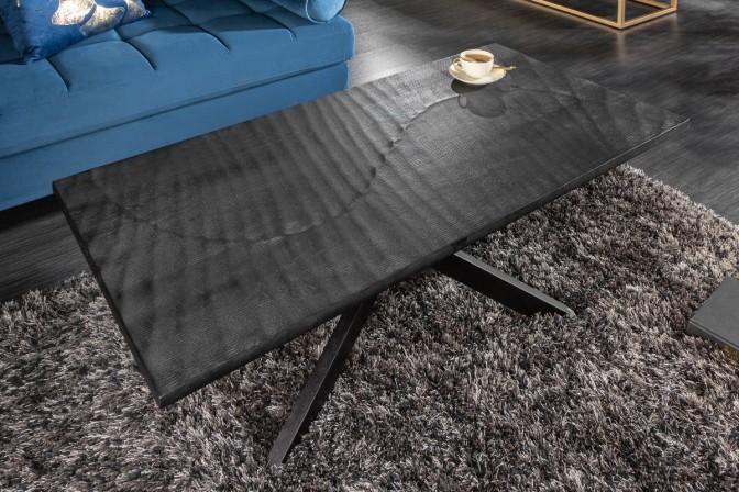JOLINE - Handgjort soffbord i massivt mangotra 110 cm