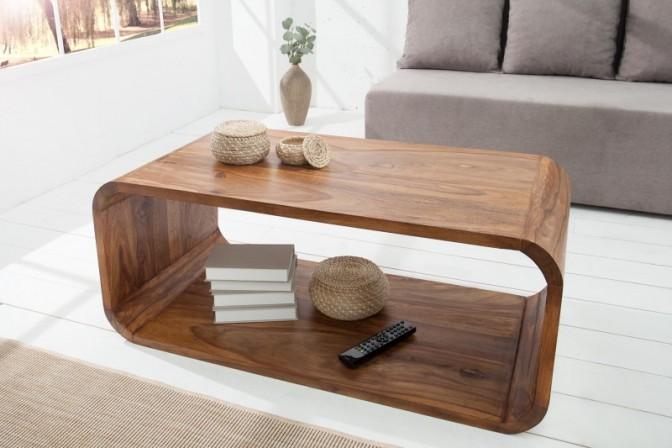 BAMBOO - 100cm soffbord i trä