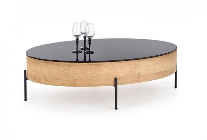 WALTER - Elegant soffbord med förvaringsfunktion 120 cm