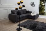Stehleuchte Magma 170cm schwarz gold