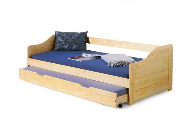 LAURENTIA - Barnsäng i massivt trä 209x96 cm