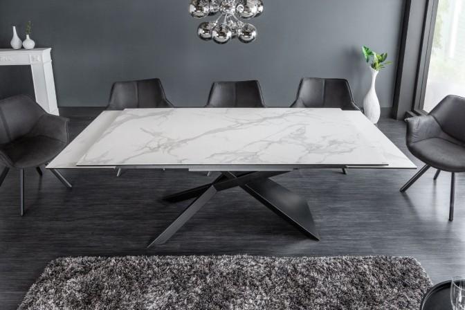 FELICIA - Vackert matbord med förlängningsfunktion keramik