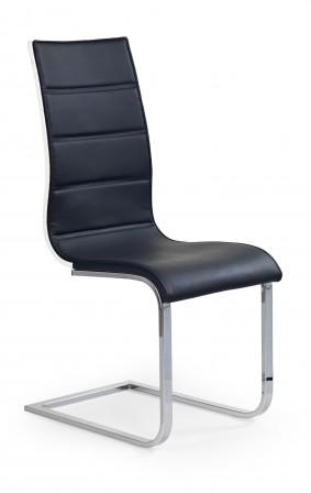 SCOTT II - modern svart/vit