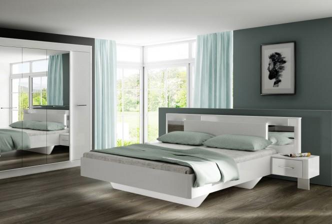 CRISTAL bedroom set (Bed+Wardrobe) with optional bed storage