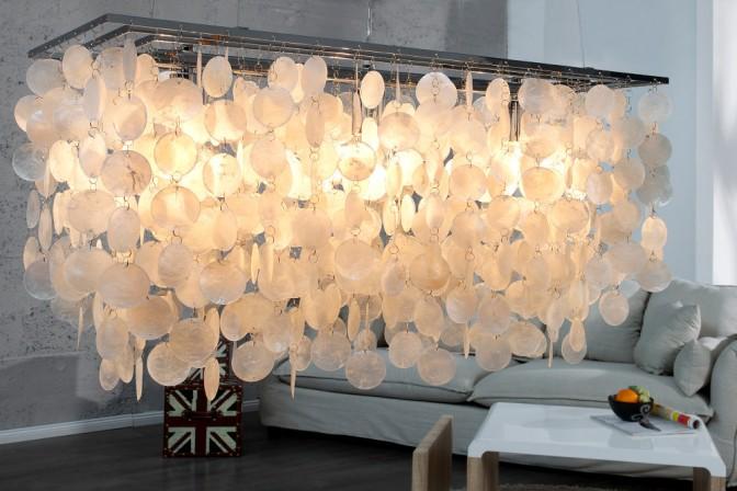 Hängeleuchte Shell Reflections 80cm