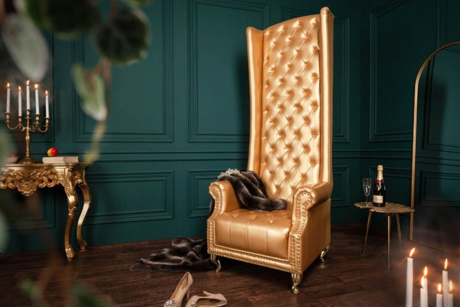 Armchair Heritage gold