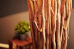 Stehleuchte aus Treibholz Euphoria 175cm