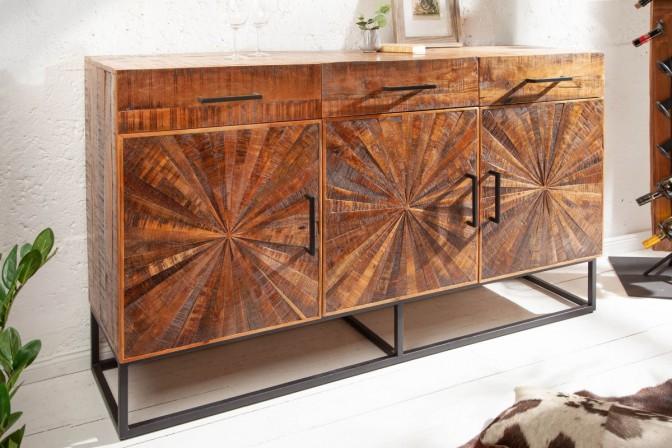 Sideboard Wood Art 160cm Mango