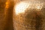 Vase Oriental set of 2 gold