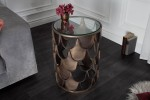 Side table Abstract fish scales design 40cm
