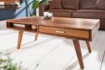 Coffee table retro 100cm Sheesham