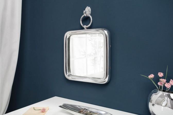 Mirror portrait 28cm silver