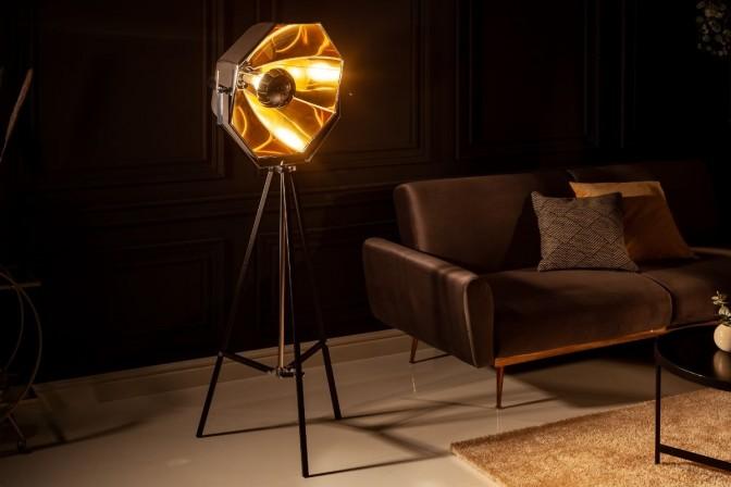 Floor lamp Studio black gold