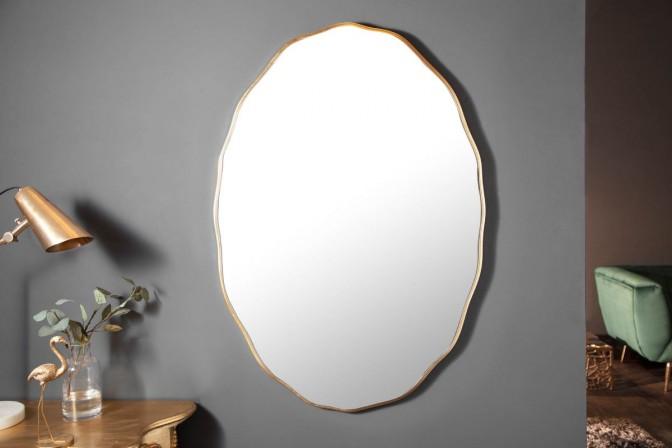 Wall mirror Elegancia 100cm oval gold