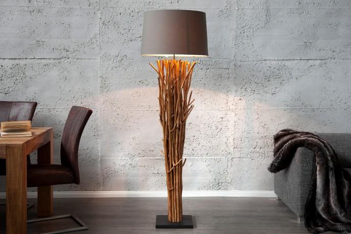 Stehleuchte aus Treibholz Euphoria 175cm braun