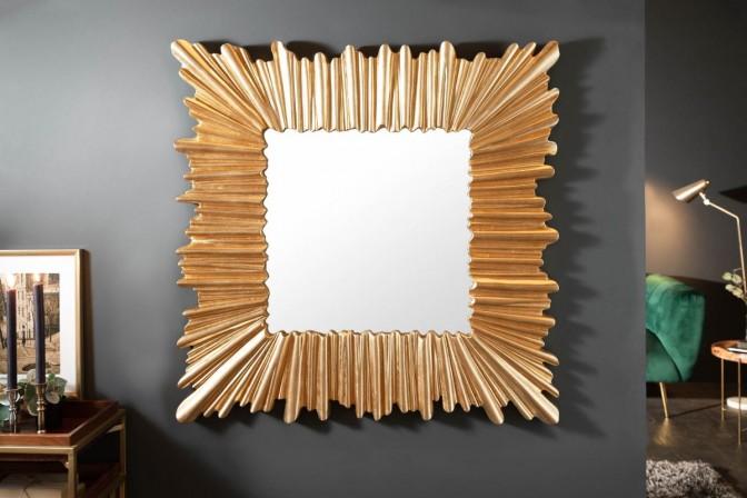 Wall mirror Venice 95cm gold