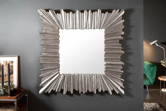 Wall mirror Venice 95cm silver