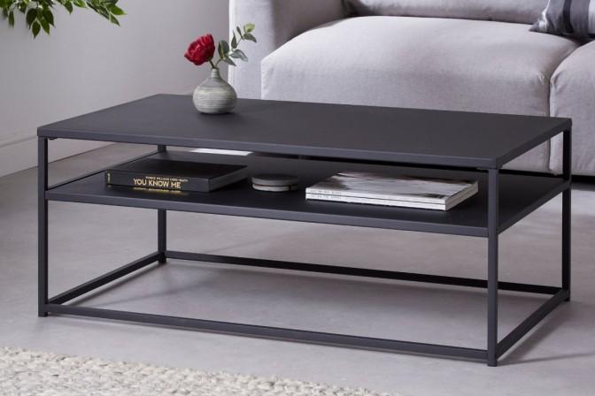 Coffee table Dura Steel 100cm metal black