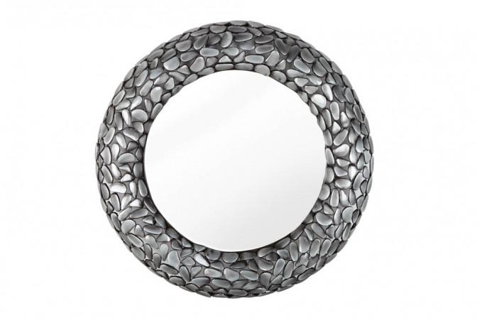 Wall mirror Stone Mosaic gray 80cm