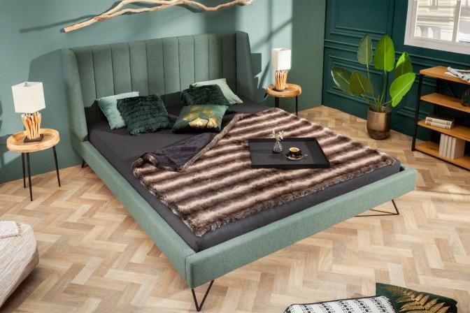 La Beaute bed 180x200cm forest green