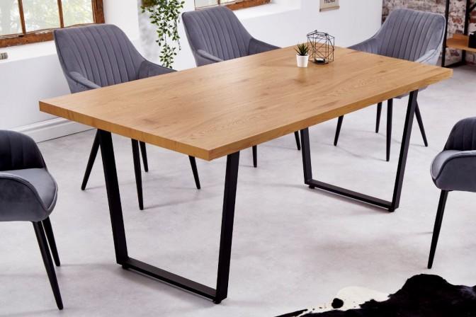 Dining table Loft 180cm oak look