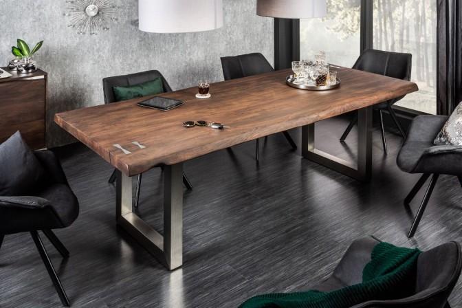 Dining table Mammut Artwork 220cm acacia 60mm