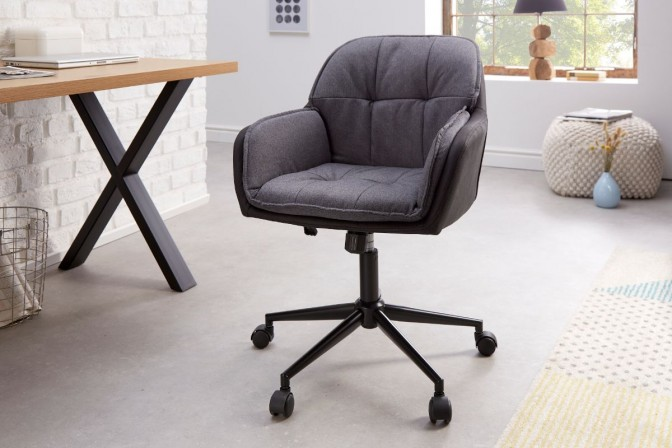 Office chair Lounger gray anthracite