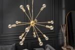 Suspension lamp Sputnik 85cm gold