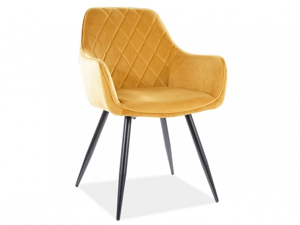 ELANDA - stol i currygul sammet