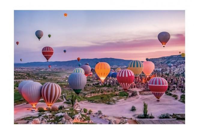 BRENATA - 120x80cm Glastavla Cappadocia