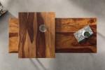 Coffee table Elements set of 2 Sheesham
