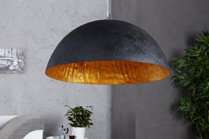 Hängeleuchte Glow schwarz gold 50cm