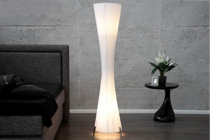 FENIX - 200cm golvlampa i vitt