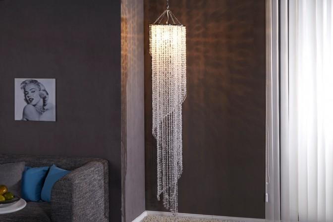STRASBOURG - taklampa i kristall