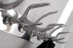 Wandgarderobe Deer 50cm silber