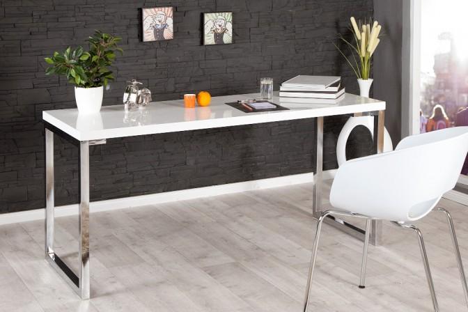 Schreibtisch White Desk weiss 160x60cm