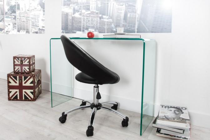 Schreibtisch Ghost - Glas 100cm