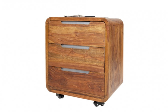 Rollcontainer Goa 60cm Sheesham